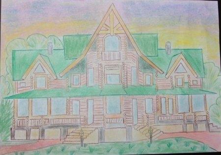 Дом мечты в детских рисунках